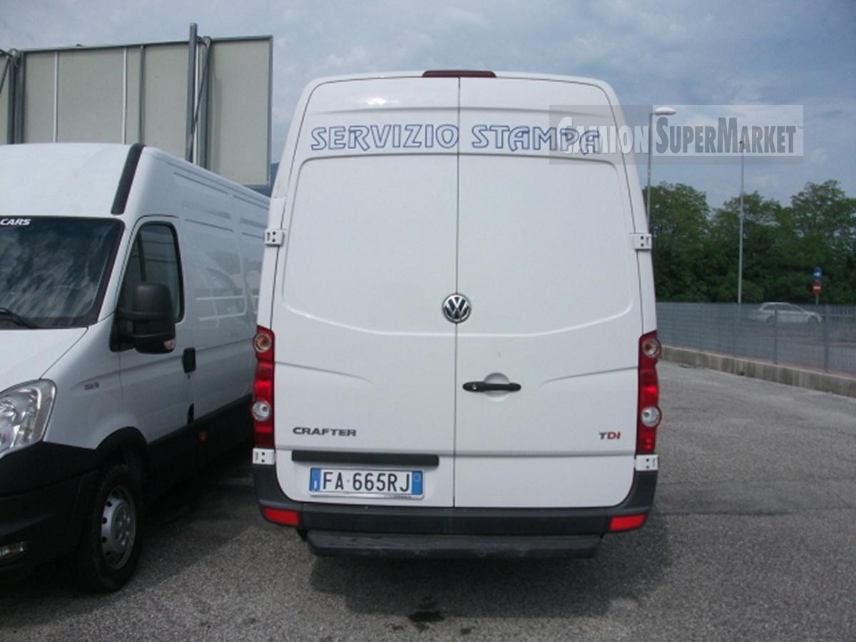 Volkswagen CRAFTER Usato 2015