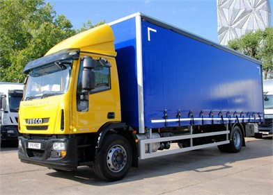 Used IVECO EUROCARGO Curtain Side Trucks for sale in Ireland