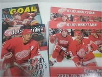 Detroit Red Wings 2005-2006 Calendars and Hockey