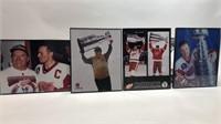 Detroit Red Wings Framed 8x10s Lot Of 4 Yzerman