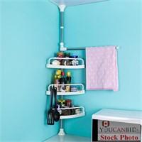 Baoyouni 3-Tier Bathroom Corner Shelf Organizer