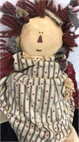 Lot of 3 Vintage Rag Doll Style Dolls