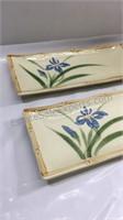 China platters 4 1/2 x 11