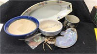 Lot of 7 Ceramic and Beaded Items