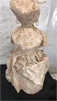 Lot of 2 Vintage Dolls one is made from a bottle