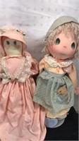Lot of 2 Vintage Dolls 1 1985  Precious Moments