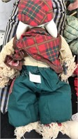 Lot of Vintage Dolls Rabbits Frogs and more