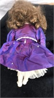 1994 Morgan Brittany Porcelain Doll 1267 out of