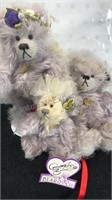 Set of 3 Annette Funicello Collectible Bear