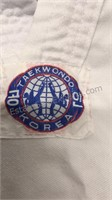 Lot of 3 Child size  TaeKwondo Jackets with