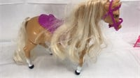 Vtg 1993 Mattel Barbie Walking High Stepper Horse