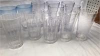 12 Pcs Plastic Drink Glasses