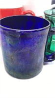8 Pcs Glass and Ceramic Coffee Mugs With Various