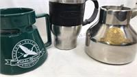 3 Travel Mugs 2 Eddie Bauer and 1 LL Bean