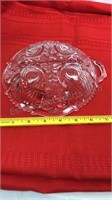 Clear Glass Bowls and Trays 8pcs