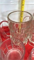 Clear Glass Drink Ware and Mugs