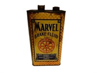 MARVEL BRAKE FLUID FOR HYDRAULIC IMP. GAL. CAN