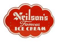 NEILSON'S FAMOUS ICE CREAM SSP DIECUT SIGN