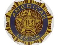 AMERICAN U.S. LEGION SSP SIGN