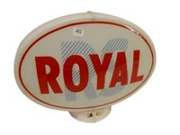 ROYAL PLASTIC GAS PUMP GLOBE- ONLY ONE LENSE