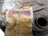 1949 WHIZ HYDRAULIC BRAKE FLUID 5 IMP. GAL. CAN