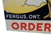 TWEEDLE CHICKS ORDER HERE FERGUS, ONT. DST  SIGN