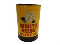 WHITE ROSE MOTOR OIL IMPERIAL GAL. CAN