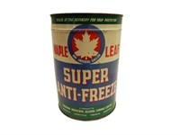 MAPLE LEAF SUPER ANTI-FREEZE IMP. GAL. CAN