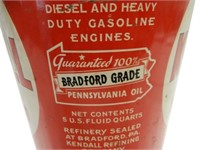KENDALL 2000 MILE OIL 5 U.S. QTS. CAN