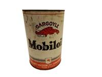 MOBILOIL GARGOYLE 5 U.S. QUARTS CAN