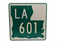 LA 601 U.S HIGHWAY S/S ALUMINUM SIGN