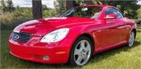 2005 Lexus SC 430 Convertible w/ top up