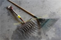 Cob Fork and Rake