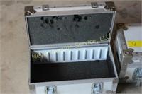 2 Heavy Duty Cases  - Inside Foam is Old