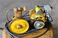 Yellow Air Compressor (Works)