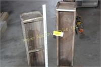 5 Wooden Planter Boxes