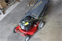 Snapper Push Mower w/ Hi-Vac Bagger 5.5 HP Motor