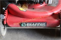 Snaper Mower with Hard Case Bagger, 5HP B.S.