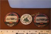 Miller & Wessington, SD Centennial Buttons & decor