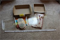 4 baking dishes & Pastry set