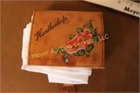 Vintage fancy handkerchiefs