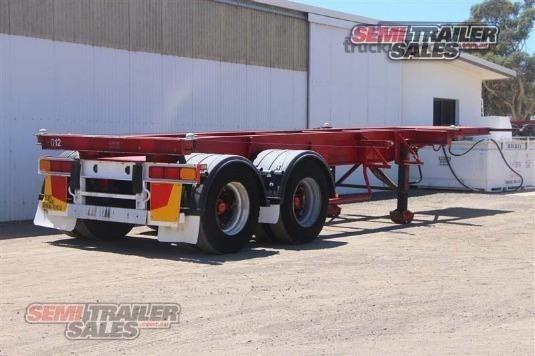 1994 Krueger Skeletal Trailer - Truckworld.com.au - Trailers for Sale