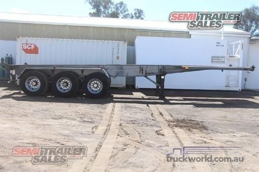 1993 Smiths & Sons Skeletal Trailer - Trailers for Sale