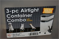 3-Pc Airtight Container Combo