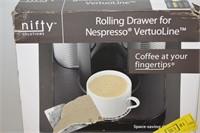 Rolling Drawer for Nespresso VertuoLine