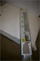 Aluminum Tension Curved Double Shower Rod