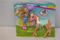 Barbie Chelsea & Pony