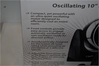 "Ozeri Oscillating 10"" Desk Fan"