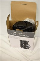 Essential Homes 5-Cup Coffee Maker (Used)