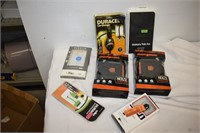 (2) Mongoose Speaker Cases, Car Chargers, etc.